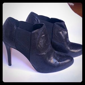 White House Black Market High Heel Booties
